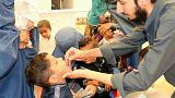 واکسیناسیون کودکان افغان