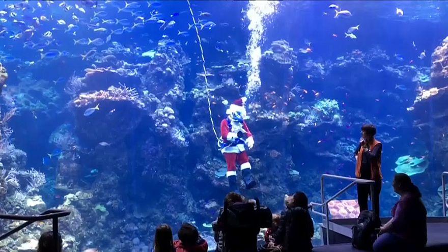 Υποβρύχιος Άγιος Βασίλης