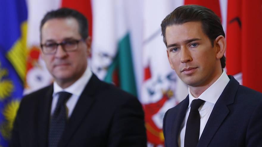 Heinz-Christian Strache (FPÖ) und Sebastian Kurz (ÖVP)