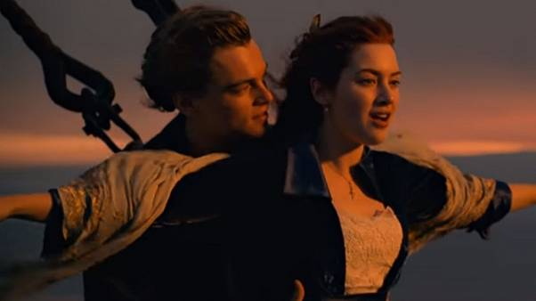 صحنه ای از فیلم «تایتانیک»
