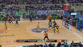 Panathinaikos extend unbeaten home run with win over Maccabi