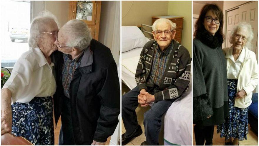 Seit 70 Jahren ein Paar: Audrey und Herbert