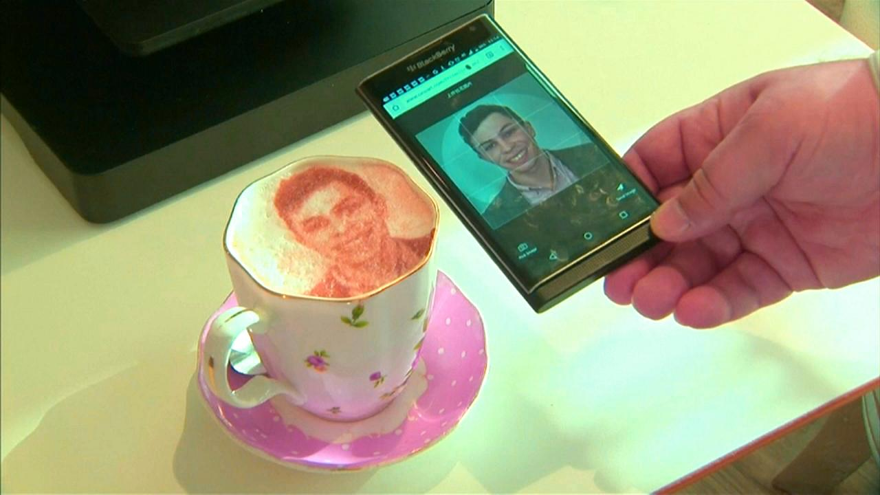 'Selfiçino' müşterilerin ilgi odağı oldu