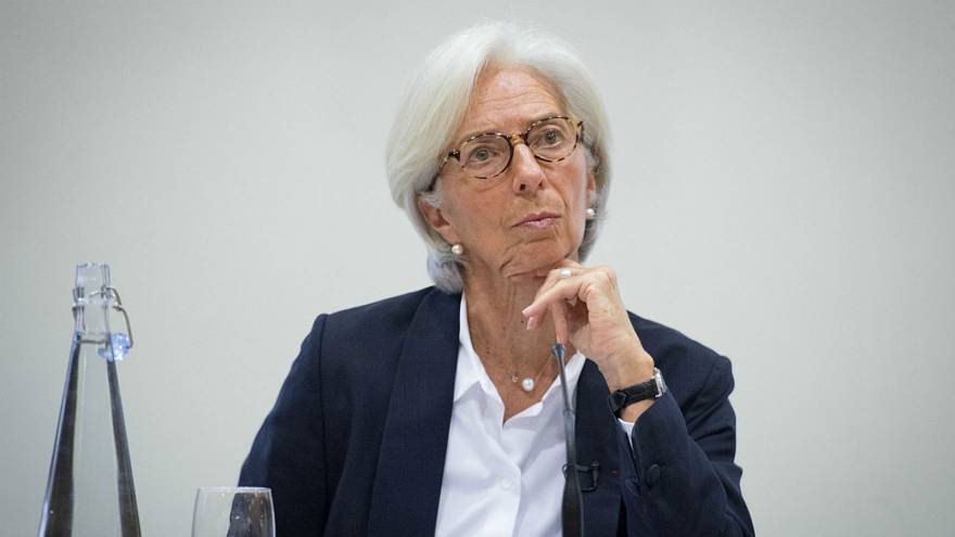 IMF chief Christine Lagarde mulls over Britain's economic performance