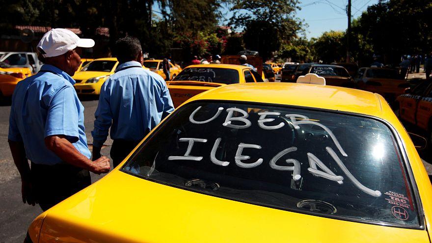 Uber kararı Avrupalı taksicileri sevindirdi