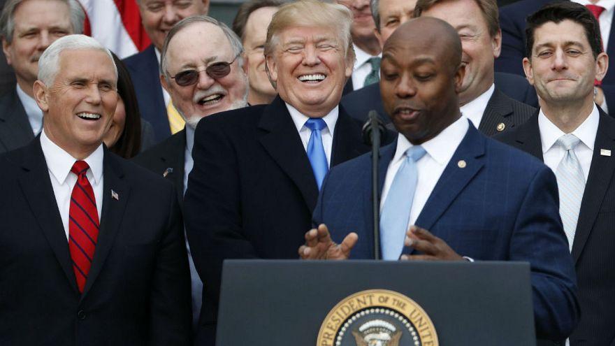El Congreso de EEUU aprueba definitivamente la reforma fiscal de Donald Trump