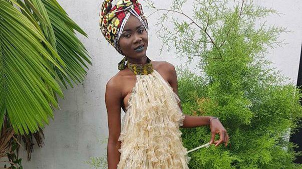 Congolese fashion designer says: wear a condom