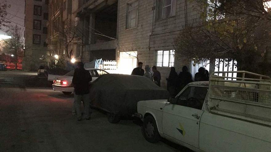 طهران هزة أرضية