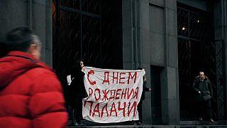 Протест на Лубянке
