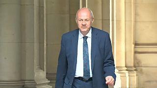 Démission du ministre britannique Damian Green