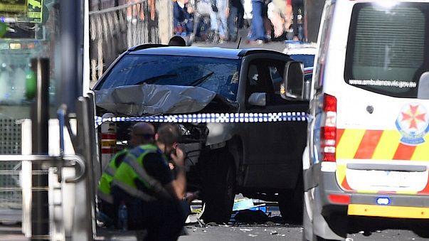 Atropelamento em serie deliberado em Melbourne