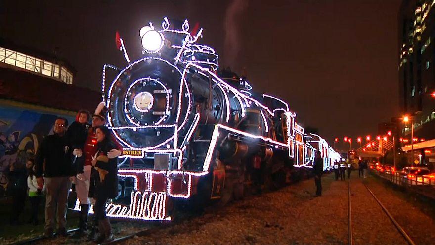 Поезд для Санта-Клауса
