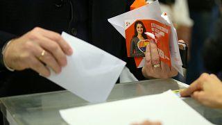 Wahltag in Katalonien