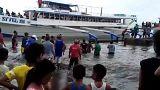 На Филиппинах затонуло судно