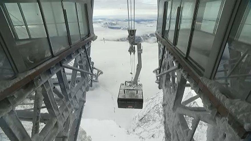 Rekorder sífelvonó épült Németországban