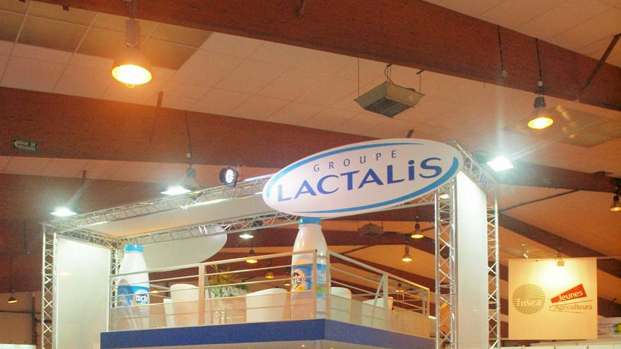 گروه لاکتالیس فرانسه شامل چند شرکت بزرگ تولید محصولات غذایی است