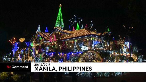 Kampf der Lichterketten auf den Philippinen