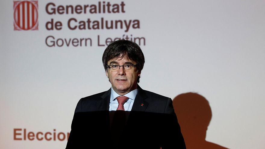 """Puigdemont lamenta """"falta de liberdade de expressão"""" nas eleições"""