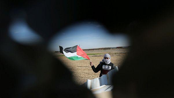 مظاهرات في غزة تنديداً بقرار ترامب بشأن القدس
