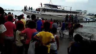 Naufrage d'un ferry aux Philippines