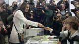 Votan los principales candidatos a la Generalitat