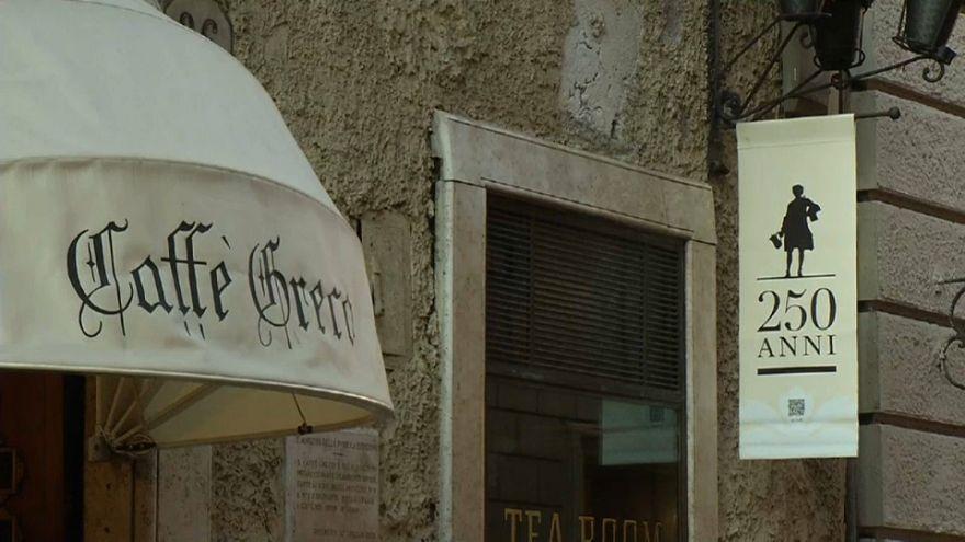 "Muss Roms ältestes Café ""Greco"" schließen?"