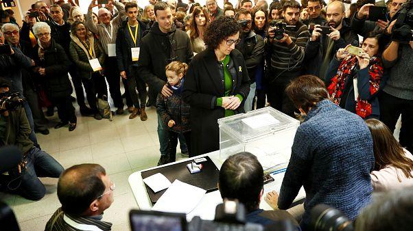 Catalogna: i leader dei partiti alle urne