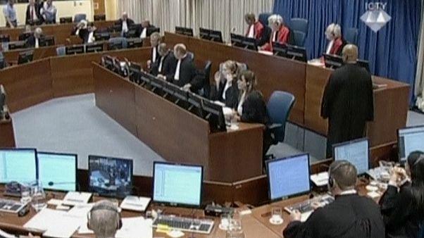 یکی از جلسات دادگاه بین المللی کیفری یوگسلاوی سابق