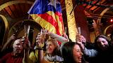 Pro-independence parties claim victory in Catalan election