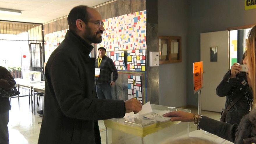 Выборы в Каталонии: голосует Сабадель