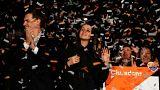 Crónica de la noche en la que Arrimadas y Puigdemont compartieron la victoria