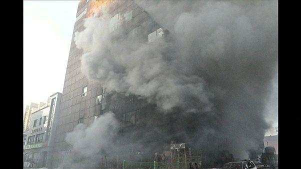 29 Tote nach Brand in Fitnesscenter