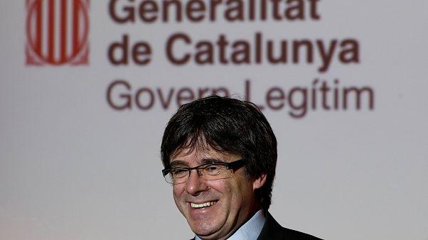 Puigdemont, le président catalan destitué