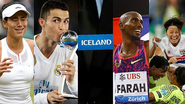 Reader poll: Who should be Euronews' Sports Personality of the Year?