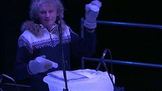 Londonban lép fel a jéggel zenélő norvég