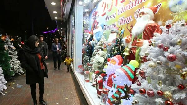 بابانوئل در خیابانهای تهران