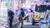 Two people arrested after a car drives into pedestrians in Melbourne