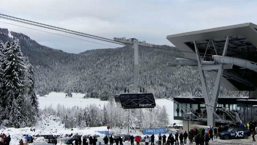 Un téléphérique dernier cri grimpe au Zugspitze