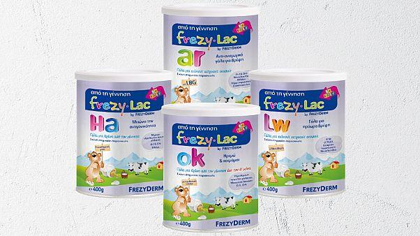 Αποσύρονται νέες παρτίδες βρεφικού γάλακτος Frezylac