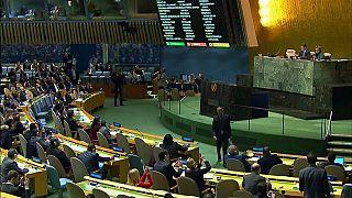 BM Genel Kurulu'nda Kudüs dayanışması
