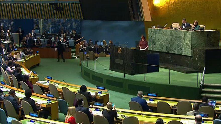 Trump ellen szavazott az ENSZ Közgyűlése