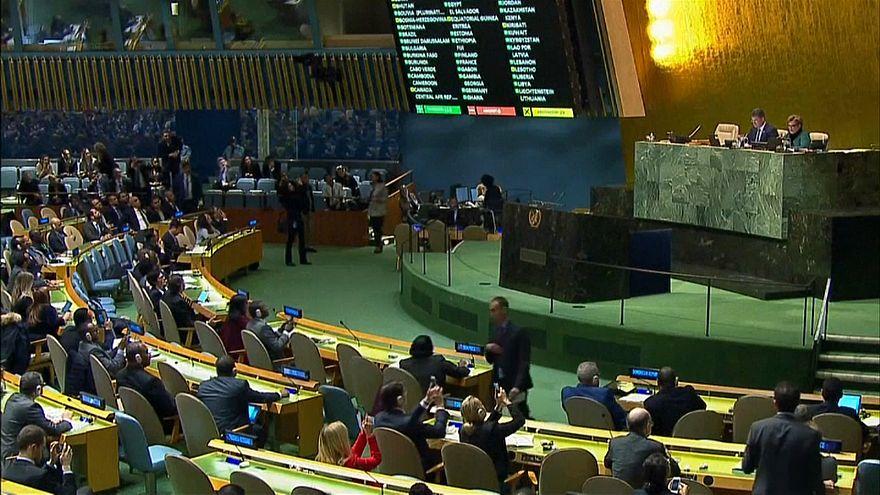 BM'nin Kudüs kararına tepkiler
