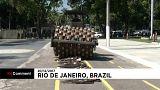 Destruction d'armes au Brésil