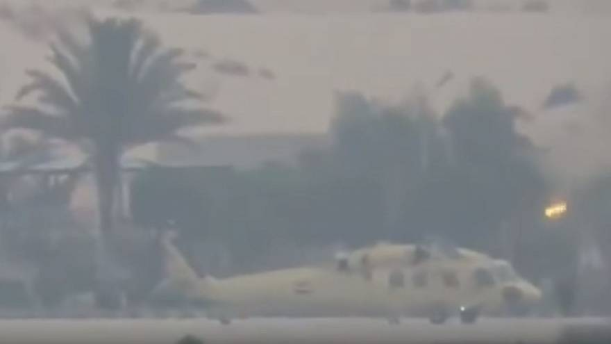 فيديو لداعش في مطار العريش