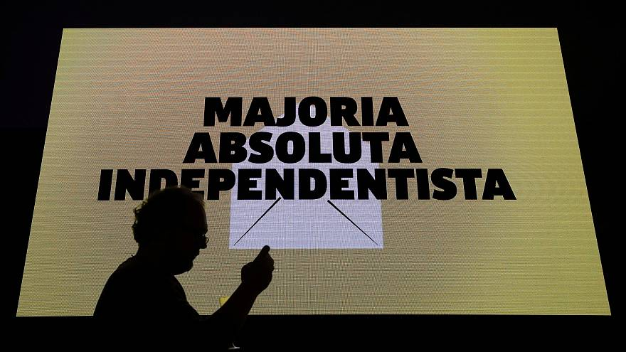 """Die """"Independentistas"""" triumphieren nach der Regionalwahl in Katalonien"""