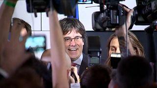 """Carles Puigdemont: Wahlen sind """"schallende Ohrfeige für Rajoy"""""""