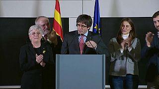 Puigdemont sale reforzado de las elecciones en Cataluña