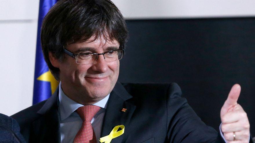 """""""República da Catalunha conquistou a monarquia do 155"""" - Puigdemont"""