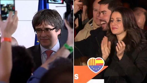 الكاتالونيون يجددون ثقتهم في الأحزاب الداعية للاستقلال