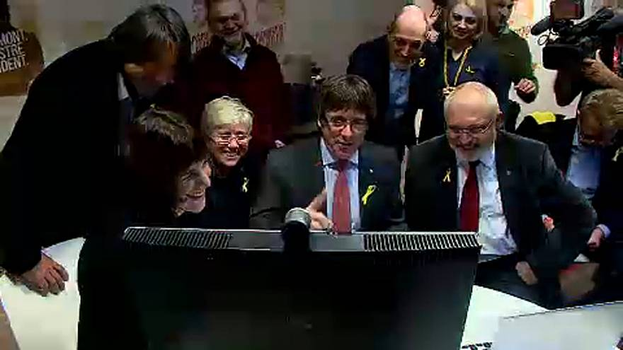 Puigdemont-ék máris hazatérnének Brüsszelből